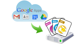 Google Apps Email Backup